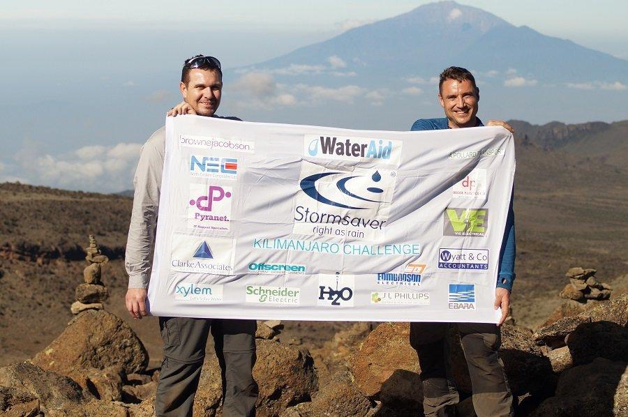 WaterAid Stormsaver Kilimanjaro