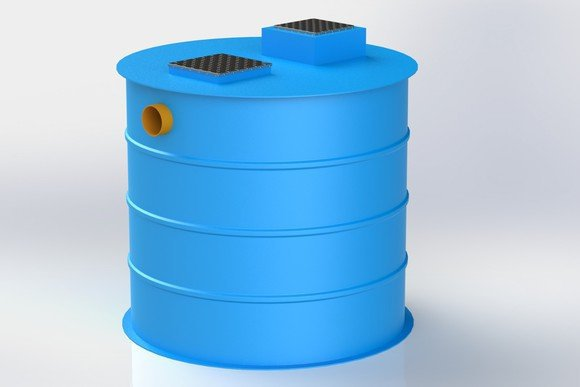 Above Ground Water Harvesting Storage Tank