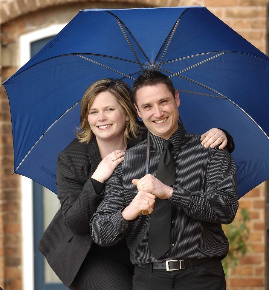 Lisa and Michael from Stormsaver