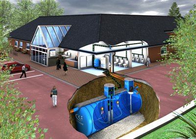 Commercial Rainwater Harvesting